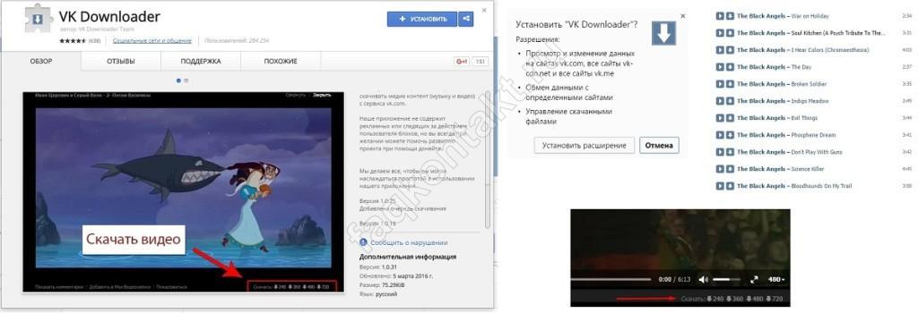 Расширения для браузера Google Chrome